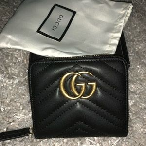 Gucci Marmont GG zip wallet